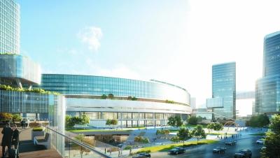南京北站站城一体化设计出炉 打造7.9平方公里智慧空间