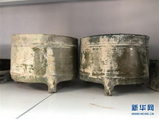 (图文互动)(4)黄河边发现大型古墓群 出土文物2000余件