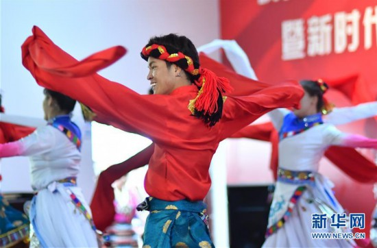 (文化)(2)拉萨:文化送乡村