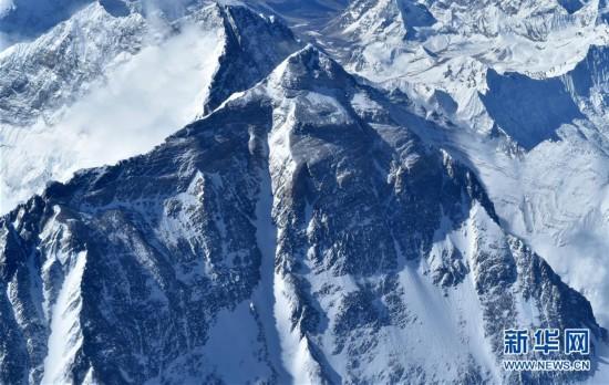 (2020珠峰高程測量)(1)俯瞰珠峰