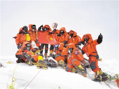 测量登山队再次站上地球之巅2020年珠峰测高任务完成