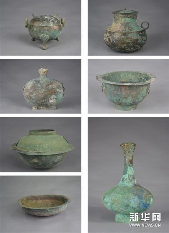 (图文互动)(6)黄河边发现大型古墓群 出土文物2000余件