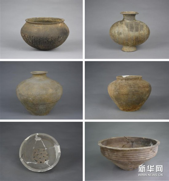 (图文互动)(7)黄河边发现大型古墓群 出土文物2000余件