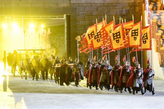 (社会)(4)大型实景神话音乐剧《昆仑之约》在乌鲁木齐上演