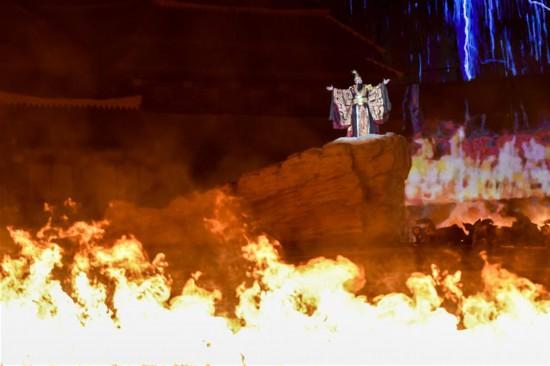 (社会)(2)大型实景神话音乐剧《昆仑之约》在乌鲁木齐上演