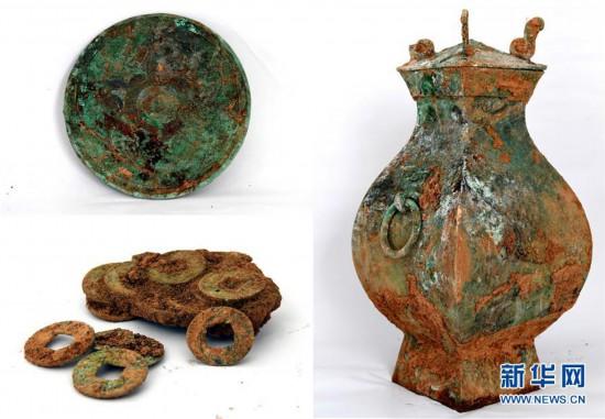 (图文互动)(3)河南洛阳发掘一处西汉家族墓 墓主身份成谜
