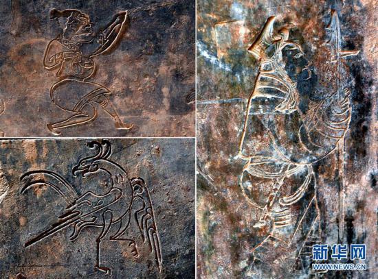(图文互动)(2)河南洛阳发掘一处西汉家族墓 墓主身份成谜