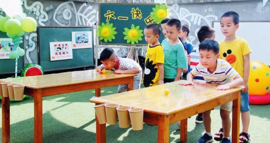 徐州是的实验幼儿园大三班小朋友童话剧