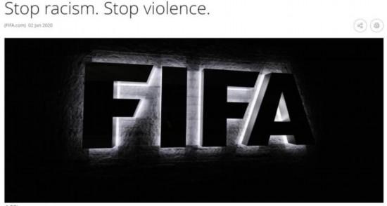 国际足联声明。