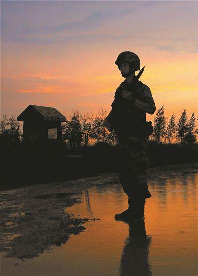 第71集团军某旅驻训地:环保新理念走进训练场