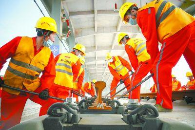 京雄城際鐵路(河北段)全線鋪軌