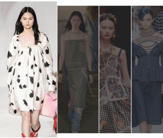 """""""东方瓷娃娃""""模特   学超模穿衣服,还真好看!"""