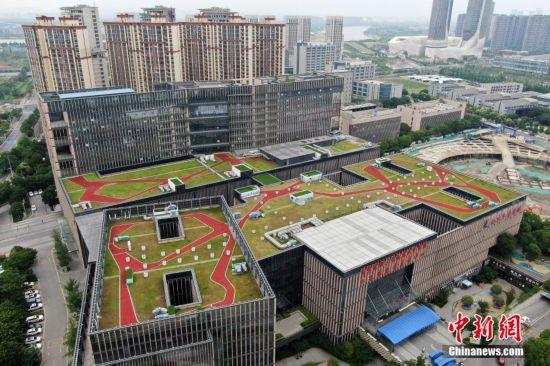 """南京河西""""空中花园""""撑起新城绿色空间"""