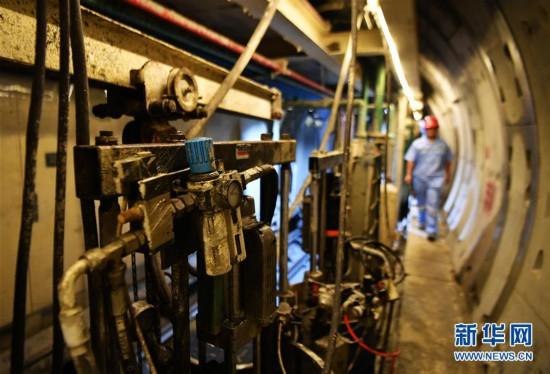 福州市轨道交通5号线(一期)工程进展顺利