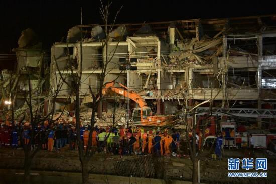 (社会)(1)浙江境内高速槽罐车爆炸已造成19人遇难