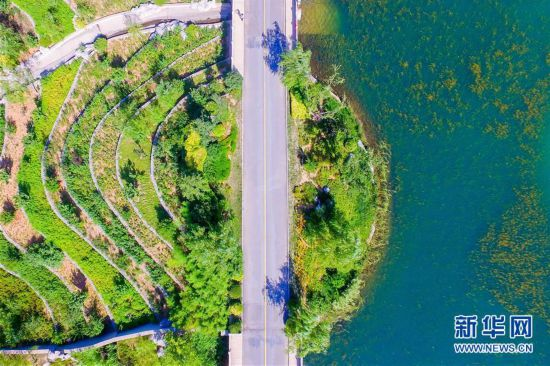 (环境)(1) 废弃矿山变身生态公园