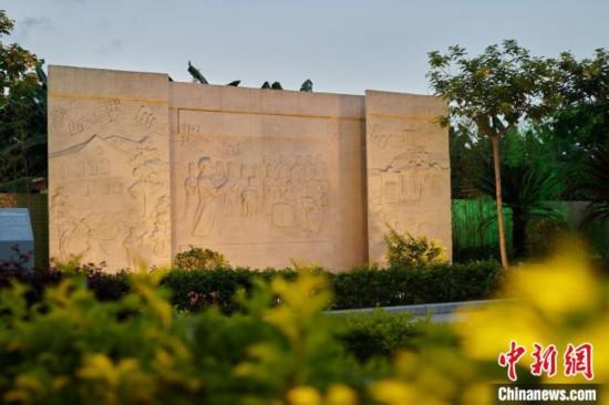 """广州南沙星海故里纪念馆""""升级""""新增多处雕塑和音乐体验"""