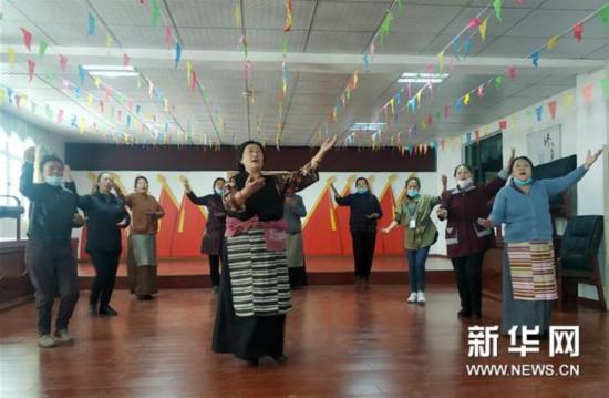 (图文互动)西藏实现所有行政村文艺演出队全覆盖