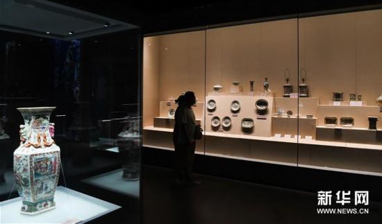 (文化)(1)清代外销艺术品展南海博物馆开展
