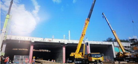 大礼路下穿京九铁路立交工程竣工