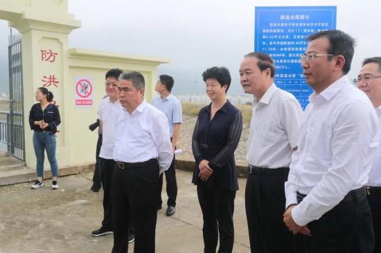 项雪龙调研督导连云港经济技术开发区防汛工作