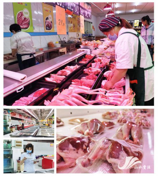 徐州賈汪加大對肉品及海鮮等水產品監管力度
