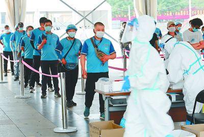 北京:10万快递小哥接受核酸检测