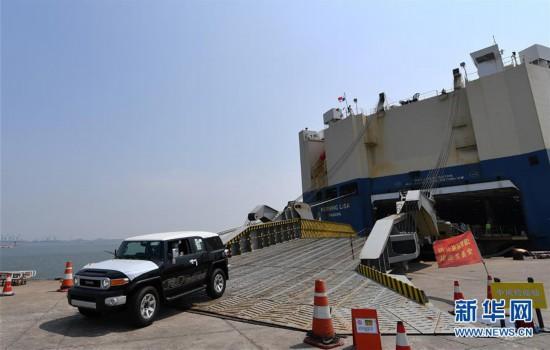 (经济)(3)数千辆平行进口车运抵天津港
