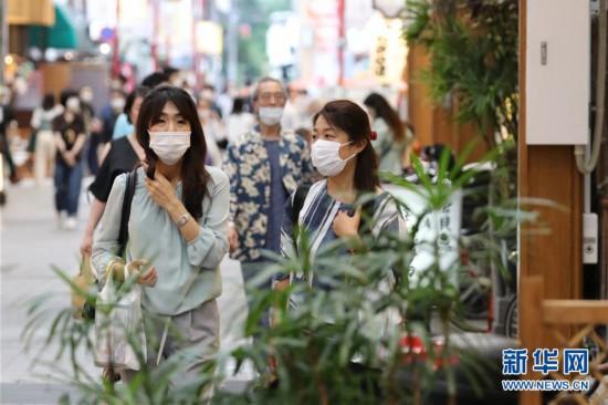(國際疫情)(1)日本東京觀光景區人流量逐漸恢復