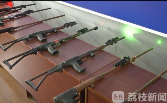 鎮江破獲跨省非法制造槍支案 購買射釘槍為造槍