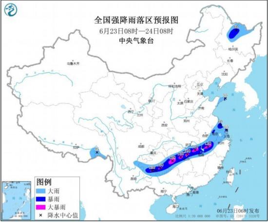 东北部分地区将出现降雨