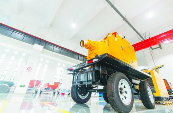 柴油发电机移动泵车