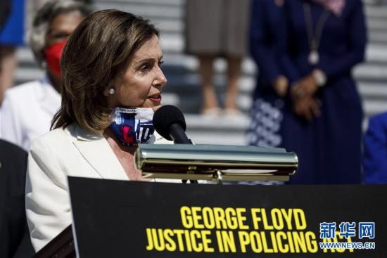 (国际)(1)美国会众议院表决通过民主党人警务改革草案