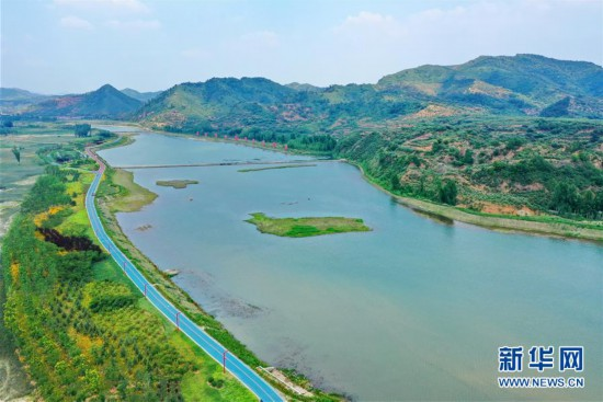 (环境)(1)河北迁西:河流生态修复再现绿水青山