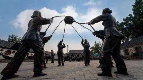 """青岛莱西市:4.2万库区移民有了""""文化名片"""""""