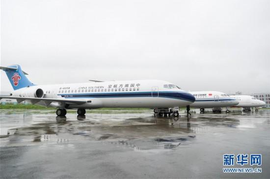 (经济)(3)国产新支线客机ARJ21进入我国主流航空市场