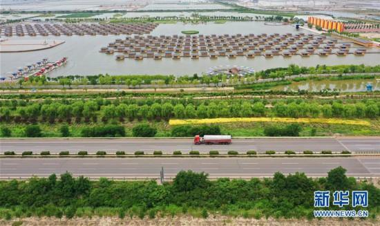 """(环境)(1)河北唐山:打造生态廊道 提升城市""""颜值"""""""