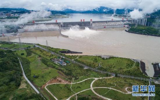 (环境)(6)三峡工程今年首次泄洪 近期或迎新一轮洪水