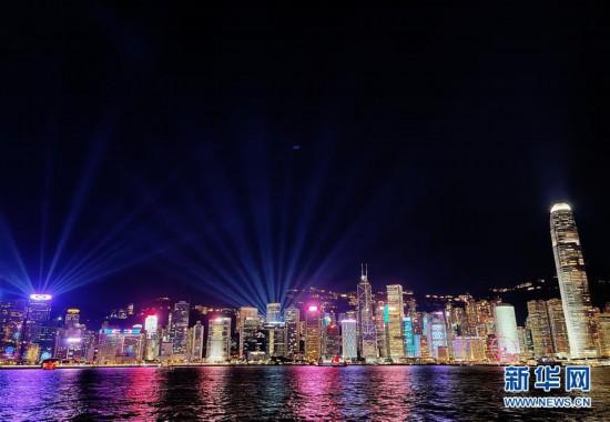 (港澳台·图文互动)(1)特稿:回归祖国廿三年 香港凝心聚力再出发