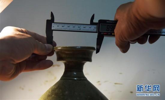 (文化)(3)山东小清河复航工程出土文物进入修复研究过程