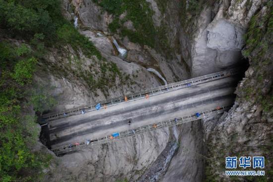 (圖文互動)(7)我國最后一個具備條件通硬化路的建制村阿布洛哈村通車了