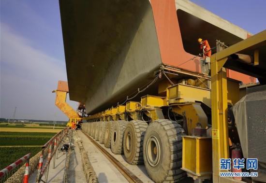 (經濟)(1)京唐城際鐵路建設正酣