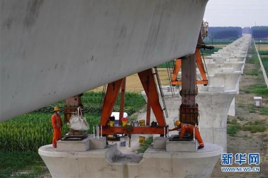 (經濟)(3)京唐城際鐵路建設正酣