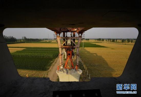 (經濟)(2)京唐城際鐵路建設正酣