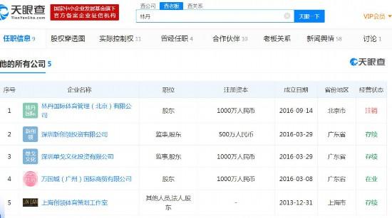"""""""超级丹""""林丹宣布退役关联5家公司其中..."""