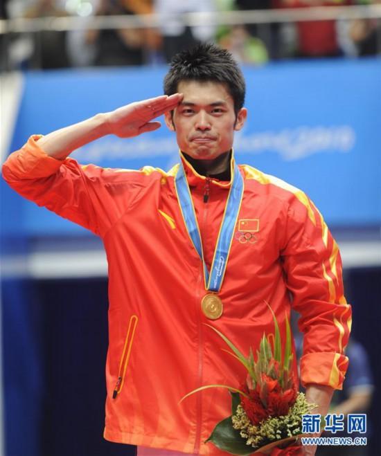 (体育)(12)羽毛球奥运冠军林丹宣布结束国家队生涯