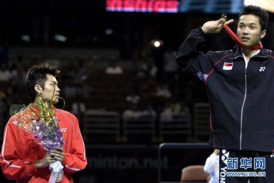 (体育)(15)羽毛球奥运冠军林丹宣布结束国家队生涯