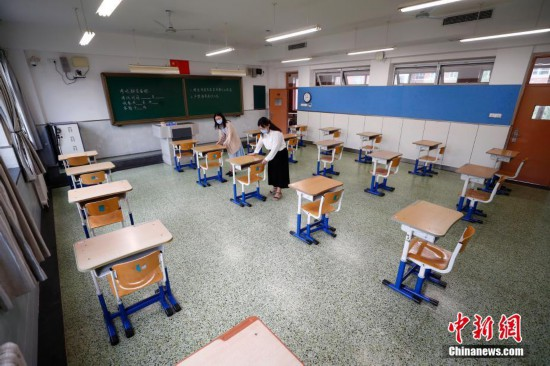 探访北京疫情中风险地区高考考点
