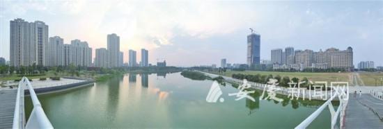 """实施30多个水系全域综合治理项目安庆市累计投资28亿元打造""""一城活水"""""""