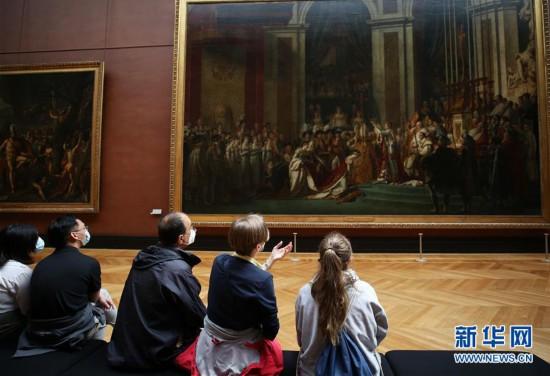 (国际疫情)(2)法国卢浮宫重新开门迎客